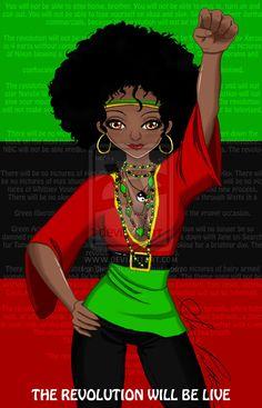 Black Power Movement | Black Power by ~Si-chan on deviantART