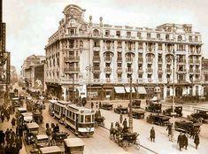 "Old Bucharest ""Little Paris"" part 2 – Romania Dacia Old Pictures, Old Photos, Little Paris, Hotel Packages, Bucharest Romania, Paris Hotels, Beautiful Architecture, Nostalgia, Street View"