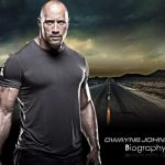 Biography of Dwayne Johnson The son of the Canadian wrestler Rocky Johnson whose name was Dwayne Johnson and The Rock was a wrestler and actor in profession.
