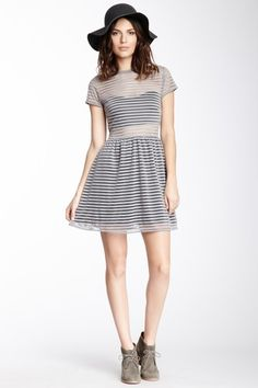 Strike a Pose Striped Dress by vfish on @HauteLook
