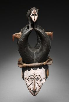 Mask | Mask, c. 1930s      Guinea Coast, Nigeria, Igbo, 20th century      wood and pigment, Overall - h:56.50 cm (h:22 3/16 inches).