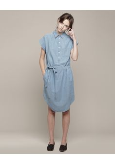 Looking for a close copy of this at a more reasonable price. Ideas? Boy by Band of Outsiders / Chambray Shirtdress