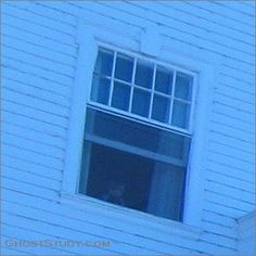 """Stanley Hotel, Ghost Tour, October 2, 2009. Little boy looking out open window. No glass or screen in window. The picture-taker sent it to the hotel and this was the response: """"OK, the room number is 1211. Last Friday, there was a single man checked in that room who was part of a business conference. That doesn't mean he DIDN'T have a child with him, but it is unlikely that he did. Cool pic!"""""""