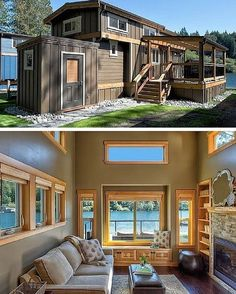 "The ""San Juan"" Wildwood Lakefront Resort on Lake #Whatcom in #Washington #interiors #interiordesign #architecture #decoration #interior #home #design #camper #bookofcabins #homedecor #decoration #decor #prefab #diy #lifestyle #compactliving #fineinteriors #cabin #shed #tinyhomes #tinyhouse #cabinfever #inspiration #tinyhousemovement #airstream #treehouse #cabinlife #cottage"