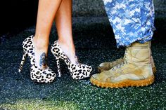 army love & leopard. engagement shoot