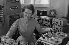 Daphne Oram, BBC sound engineer and creator of the Dr Who theme