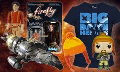 There's not a power in the 'verse that can stop Firefly fans from loving the space western series. We miss the big damn heroes too and, to fill the void in our hearts, we prepared a list of the shiniest Firefly collectibles under $20. Every Browncoat would be proud to have these fine pieces among […]