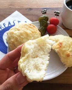 朝から焼きたて!ぐるっと混ぜるだけで簡単「チーズプチパン」 - 朝時間.jp