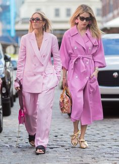 NYFW TRENDS: PINK SUITING