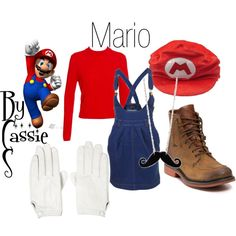 """""""Mario"""" by lilcassie7 on Polyvore"""