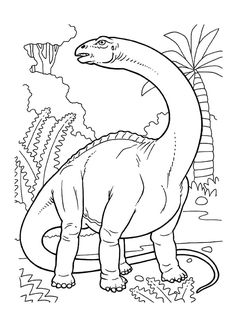 The Book Dinosaur Coloring Pages Printable