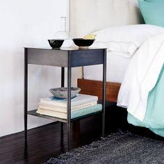 Metalwork Bedside Table - Hot Rolled Steel Finish