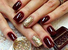 Christmas nails! ♥