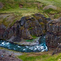 River - On the road to Akureyri #akureyri #iceland #north