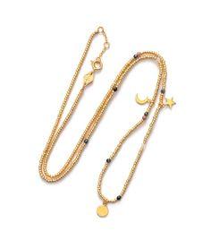 164-01-14 // ANNI LU // GLORY // Night Blush necklace/anklet