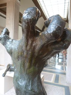 """""""The Clenched Hand,"""" Rodin Museum, Benjamin Franklin Parkway, Philadelphia (photo: J. Rogers)"""