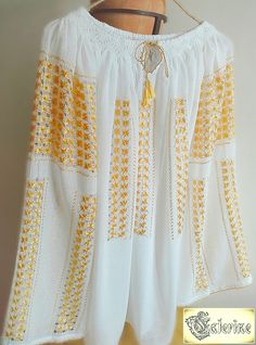 Ie Caterine Off Shoulder Blouse, Costume, Embroidery, Casual, Tops, Women, Fashion, Bees, Moda