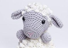 Lamb AmigurumiCrochet Lamb ToyCrochet by KATShandmadeitems on Etsy