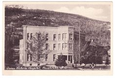 BC – REVELSTOKE, Queen Victoria Hospital c.1910s PPC Revelstoke Bc, Queen Victoria, History Facts, Old Pictures, British Columbia, Postcards, World, Interior, Outdoor