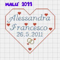 Alessandra Francesco in cuore ( Matrimonio )