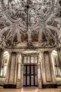 Lost | Forgotten | Abandoned | Displaced | Decayed | Neglected | Discarded | Disrepair | The abandoned Villa Zanelli Savona, Italy.
