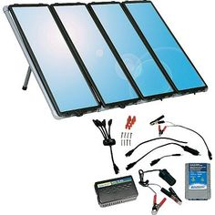 Sunforce 60-watt Solar Charging Kit at Cabela's