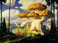 fantasy art trees | Grove Guardian, Mushroom Fantasy, treelife, and Thought