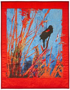 """Red Winged Blackbird"" by Karin Franzen"