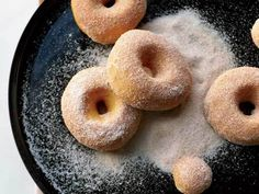 sweet potato doughnuts - baked, not fried!