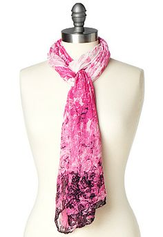 DeDee Scroll Ombre Scarf