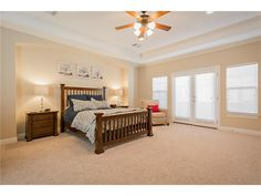 2616 N. Henderson Ave. - Master Bed