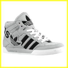 dd7d56df0382 adidas Originals Hard Court Hi Big Logo - Men s - Sport Inspired - Shoes -  Medium Grey Heather Black Aluminum. for the leg day