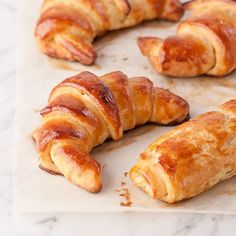 A stellar gluten free croissant in the image of any decent French croissant. C'est tres bon.