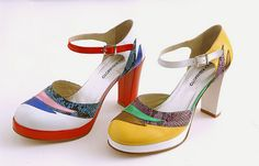Eley Kishimoto - every pair of shoes is like a masterpiece! Love it