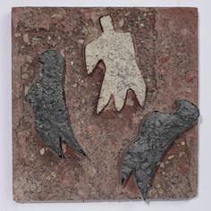 Siri Derkert, Fåglar och människa, ca. 1950, Andréhn-Schiptjenko