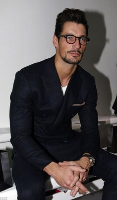 Smouldering: The Essex-born star is undoubtedly one of the world's most handsome men - january 6, 2014 LC:M