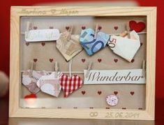 hearty wedding ceremony reward (Diy Wedding ceremony Presents) Diy Presents, Diy Gifts, Don D'argent, Diy And Crafts, Paper Crafts, Diy Wedding Gifts, Money Origami, Inspirational Gifts, Diy Cards