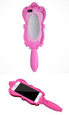 Funda de celular con espejo