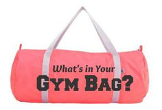 Fitness | When you are heading to the gym, having a few basic essentials in your bag is very important as your burn off calories and stress. | #Ad