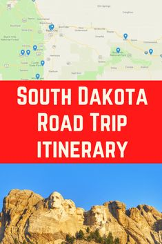 Ultimate South Dakota Road Trip Planner (including Itinerary Ultimate South Dakota Road Trip Planner including Black Hills Itinerary including best things to do near Mount Rushmore, things to do in Rapid City and how to visit Badlands National Park Road Trip Planner, Travel Planner, Itinerary Planner, Us Travel Destinations, Usa Travel Guide, Travel Usa, Travel Tips, Bryce Canyon, Death Valley