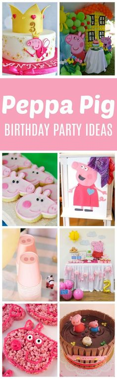 17 Peppa Pig Birthday Party Ideas | Pretty My Party