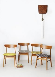 Skinny laMinx Solid Orla chairs by skinnylaminx, via Flickr by pollyer