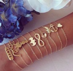 Arm candy  #beautiful #jewelry #stlyle