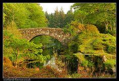 Blain Bridge, Castle Tioram, Moidart, Highlands of Scotland