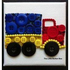 Button Art Lorry