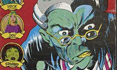 Comic books: A freakish kind of writing