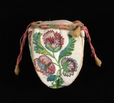 18th century knitted purse (I snuck it in on the handbags board!).