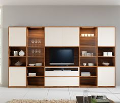contemporary wall units | Modular Wall units from Amar - Wharfside - Contemporary Furniture