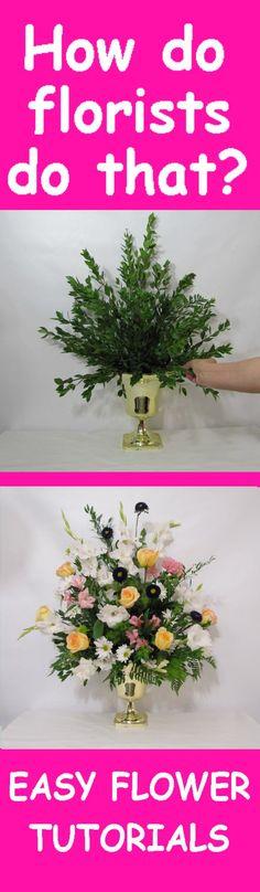 Altar Flowers Tutorial - Adding Yellow Roses