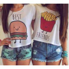 Best Friends shirt - setje